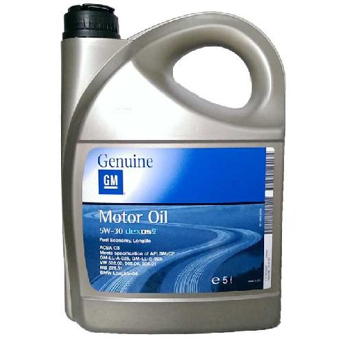 GM OPEL 5W30 DEXOS 2 / 5L