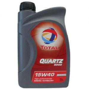 TOTAL QUARTZ 5000 DIZEL 15W40 / 1L