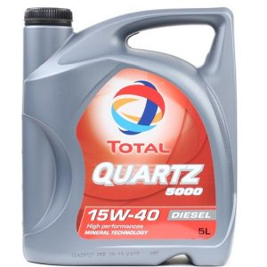TOTAL QUARTZ 5000 DIZEL 15W40 / 5L