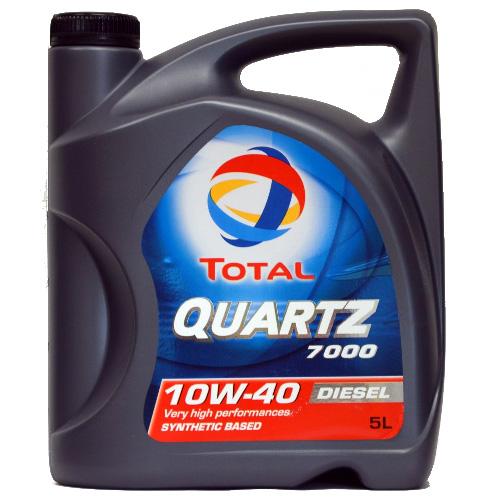TOTAL QUARTZ 7000 DIZEL 10W40 / 5L