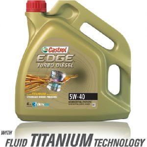 CASTROL EDGE T.DIESEL TITANIUM FST 5W40/4L VW