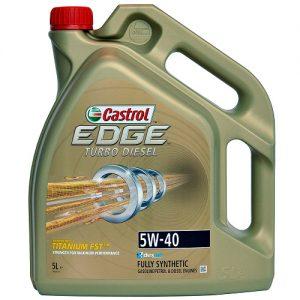 CASTROL EDGE T.DIESEL TITANIUM FST 5W40/5L VW