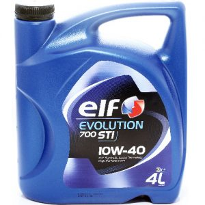 ELF EVOLUTION 700STI (COMPETITION) 10W40 / 4L